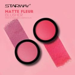 Матовые румяна STARWAY Matte Fleur Blusher №11206