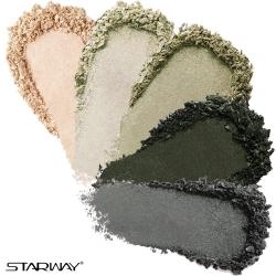 Палетка теней для век STARWAY Five Color Eyeshadow №21006