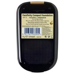 Компактная пудра FACE FINITY 01/ Фарфоровый