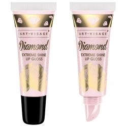 Art-Visage Сияющий блеск для губ Diamond в тубе 52 кварц