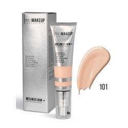 WELLNESS SKIN 101/Жидкий тональный крем с шёлковым покрытием