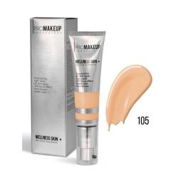 WELLNESS SKIN 105/Жидкий тональный крем с шёлковым покрытием