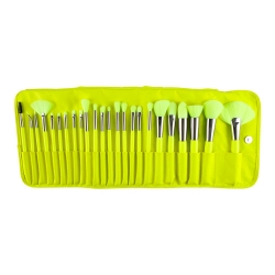Набор из 24 кистей Neon Yellow Brush Set