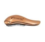 Расчёска для волос пластик / Бронзовая 18*7см