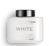 Пудра рассыпчатая Makeup Revolution White Baking Powder lace