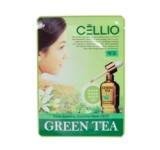Маска тканевая Extra Soothing Essential Mask (Cellio) (Зеленый чай)
