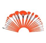 Набор из 24 кистей Neon Orange Brush Set